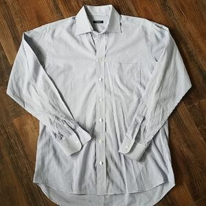"Burberry men's dress shirt 15.5"" neck"